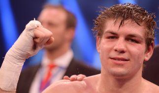 Vincent Feigenbutz vs. Caleb Plant am 16.02.2020: Wird der Karlsruher Boxprofi auch nach seinem US-Debüt jubeln können? (Foto)