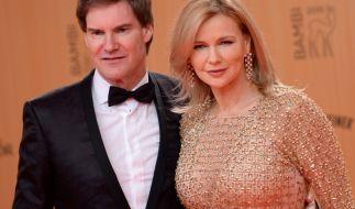 Schauspielerin Veronica Ferres steht ihrem Mann, Unternehmer Carsten Maschmeyer, während der schweren Zeit bei. (Foto)