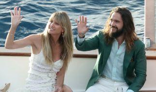 Heidi Klum hat ihre ganz eigenen Tricks und Kniffe, um Ehemann Tom Kaulitz zu verzaubern. (Foto)