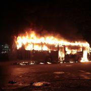 Vier Schulkinder (3, 5) verbrennen qualvoll in Transporter - tot (Foto)