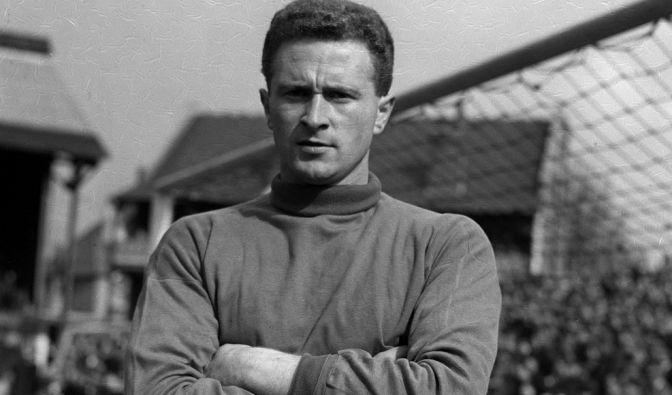 Harry Gregg, nordirischer Fußballer (27.10.1932 - 17.02.2020) (Foto)