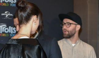 """Lena Meyer-Landrut und Mark Forster beim Fototermin zum Kinofilm """"Trolls World Tour"""" im Hotel Waldorf Astoria. (Foto)"""