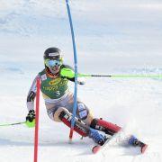 Federica Brignone fuhr den Sieg ein -Patrizia Dorsch schied aus (Foto)
