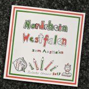 Unfassbar! AfD verschenkt Rassismus-Malbuch an Kinder (Foto)