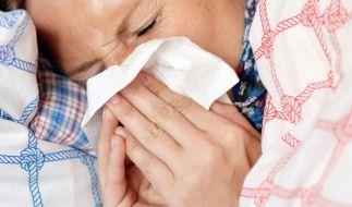 Die Grippewelle in Deutschland hat an Dynamik gewonnen. (Foto)