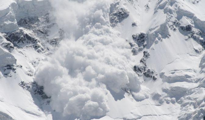 Lawinenunglück auf Spitzbergen