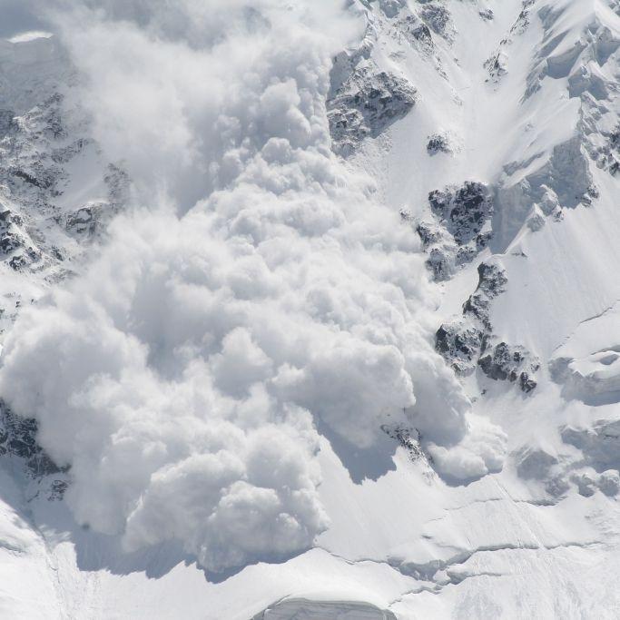 Zwei Deutsche von Schneemassen überrollt - tot (Foto)