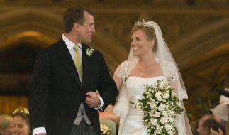 Die 2008 geschlossene Ehe von Queen Elizabeths Enkel Peter Phillips und dessen kanadischer Ehefrau Autumn Kelly endete 2020 mit der Trennung. (Foto)