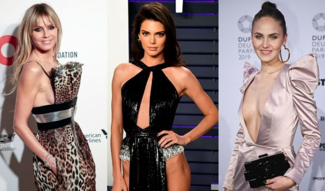 Kendall Jenner, Heidi Klum, Elena Carrière