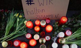 Die Stadt Hanau bereitet eine zentrale Trauerfeier für die Anschlagsopfer vor. (Foto)