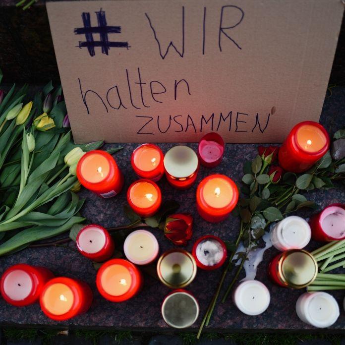 Hanau gedenkt Anschlagsopfer (Foto)