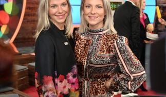 Cheyenne (links) und Valentina Pahde sorgten bei einer Berlinale-Party für Aufsehen. (Foto)