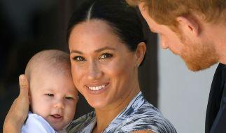 Eines der wenigen Bilder von Baby Archie, aufgenommen im vergangenen September in Südafrika. (Foto)