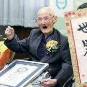 Mit 112! Ältester Mann der Welt stirbt (Foto)