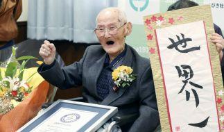 Chitetsu Watanabe wurde 112 Jahre alt. (Foto)