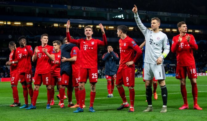 Champions League am 25.02.2020