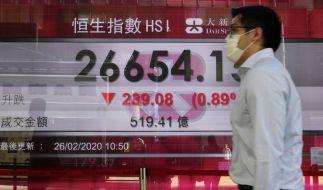 Drastische Maßnahmen in Hongkong gegen die Konjunkturschwäche (Foto)