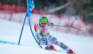 Ski Alpin Weltcup 2019/2020: Andreas Sander aus Deutschland in Aktion. (Foto)