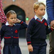 Coronavirus-Alarm! Royals bangen um Prinz George und Prinzessin Charlotte (Foto)