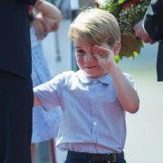 Tränendrama um den Mini-Royal! Prinz George erleidet Höllenqualen (Foto)