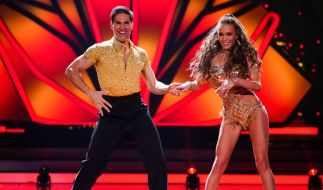 "Laura Müller tanzt bei ""Let's Dance"" mit Christian Polanc. (Foto)"