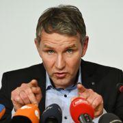 Thüringer AfD-Chef tritt bei Ministerpräsidentenwahl an (Foto)
