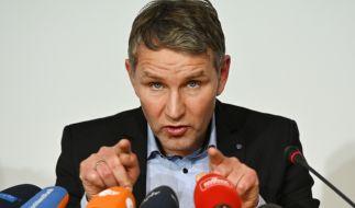 Der Thüringer AfD-Fraktionsvorsitzende Björn Höcke will bei der Ministerpräsidentenwahl am 4. März gegen Bodo Ramelow antreten. (Foto)