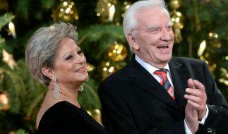 DDR-Star Peter Wieland, hier mit seiner Ex-Frau Dagmar Frederic, ist im Alter von 89 Jahren gestorben. (Foto)