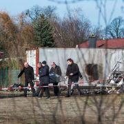 Zwei Leichen und Tierkadaver in ausgebrannten Wohnwagen entdeckt (Foto)
