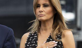 Melania Trump hatte einst behauptet, kein Kindermädchen für Sohn Barron zu haben. (Foto)