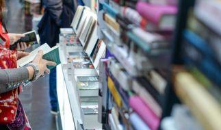 Die Regale der Leipziger Buchmesse bleiben in diesem Jahr leer. (Foto)