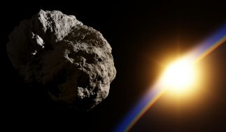 Wie dramatisch wäre ein Asteroideneinschlag auf der Erde? (Foto)