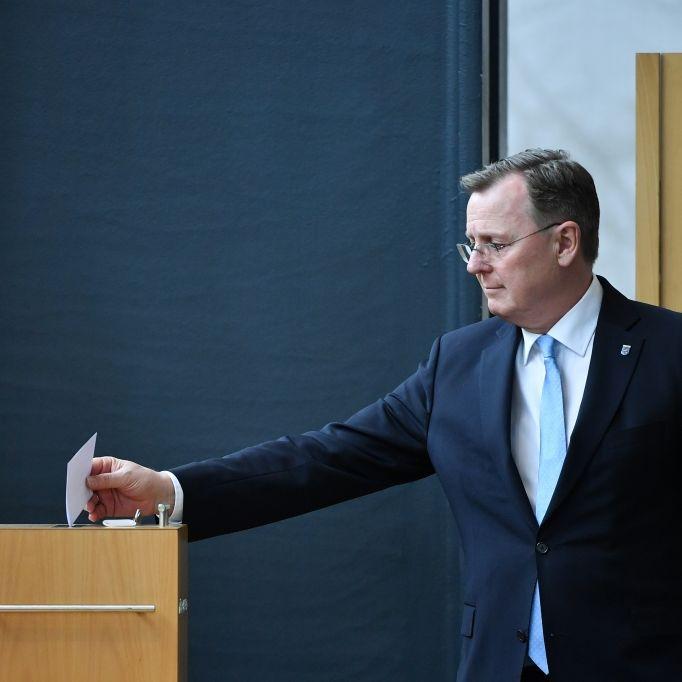 Bodo Ramelow im 3. Wahlgang zum Ministerpräsidenten gewählt (Foto)