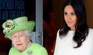 Ist das Verhältnis zwischen Queen Elizabeth und Meghan Markle wirklich so angespannt, wie aktuell behauptet wird? (Foto)