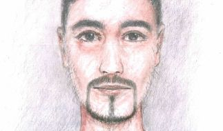 Die Ermittler haben ein Phantombild des Verdächtigen veröffentlicht. (Foto)