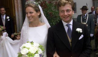 Prinzessin Filippa zu Sayn-Wittgenstein heiratete ihre große Liebe Graf Vittoria Mazzetti d'Albertis am 10. Juni 2001. Gut drei Monate später starb die Frischvermählte bei einem schrecklichen Unfall. (Foto)