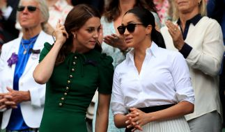 Kate Middleton und Meghan Markle in den Royal-News. (Foto)