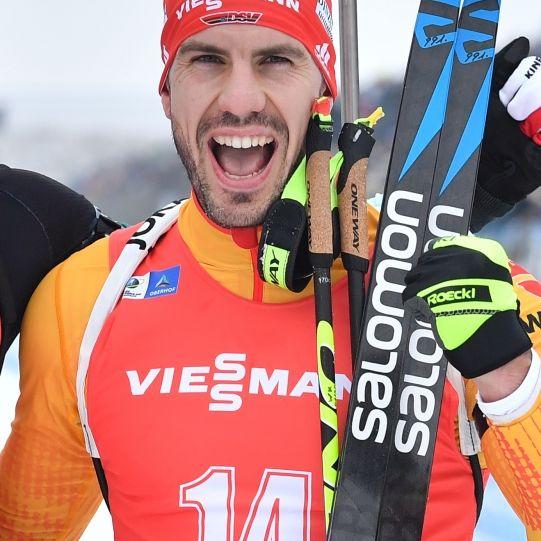 Biathlet Peiffer Dritter im Massenstart - Bö gewinnt in Nove Mesto (Foto)