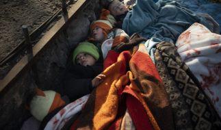 Hunderte Kinder leiden an der Flüchtlingskrise an der griechisch-türkischen Grenze. (Foto)