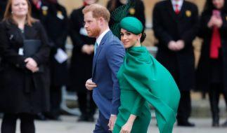 """Das hat gesessen! Bei ihrem großen Wiedersehen im Rahmen des """"Commonwealth Days"""" zeigte Prinz William Herzogin Meghan öffentlich die kalte Schulter. (Foto)"""