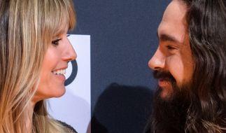 Seit zwei Jahren ein Paar: Heidi Klum und Tom Kaulitz. (Foto)