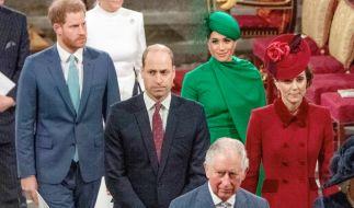 Die Stimmung zwischen Prinz Harry und Prinz William ließ beim letzten gemeinsamen Auftritt der Brüder zu wünschen übrig. (Foto)