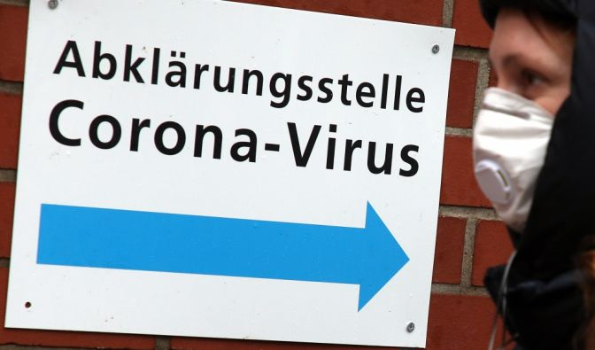 Coronavirusin Deutschland