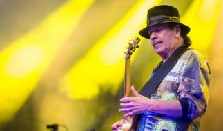 Musiker Santana sagt Europa-Termine seiner Tour ab. (Foto)