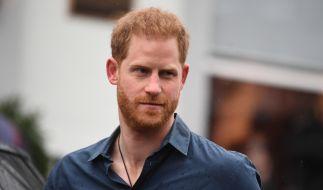 Prinz Harry ist ordentlich auf die Schippe genommen worden. (Foto)