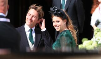 Die Hochzeit von Prinzessin Beatrice von York und Edoardo Mapelli Mozzi könnte aufgrund des Coronavirus ins Wanken geraten. (Foto)