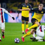 Sehen Sie das Achtelfinale Dortmund vs. Paris heute LIVE (Foto)