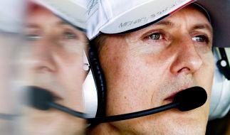 Michael Schumacher wurde offenbar Opfer von geschmacklosen Fake-Videos. (Foto)