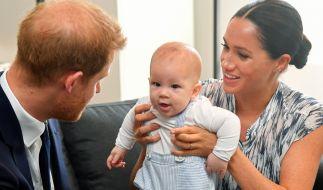 Der kleine Archie Harrison hat seinen US-amerikanischen Großvater Thomas Markle bislang nicht kennengelernt. (Foto)