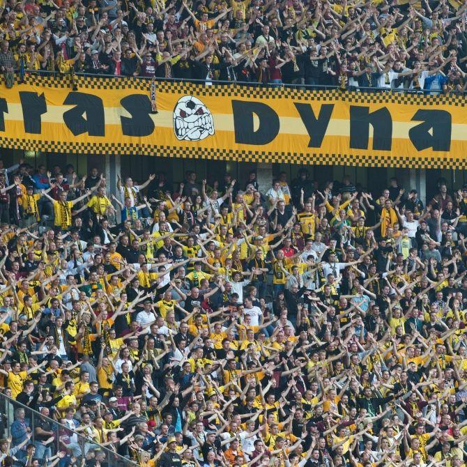 SG Dynamo Dresden gewinnt mit 4 : 3 (Foto)